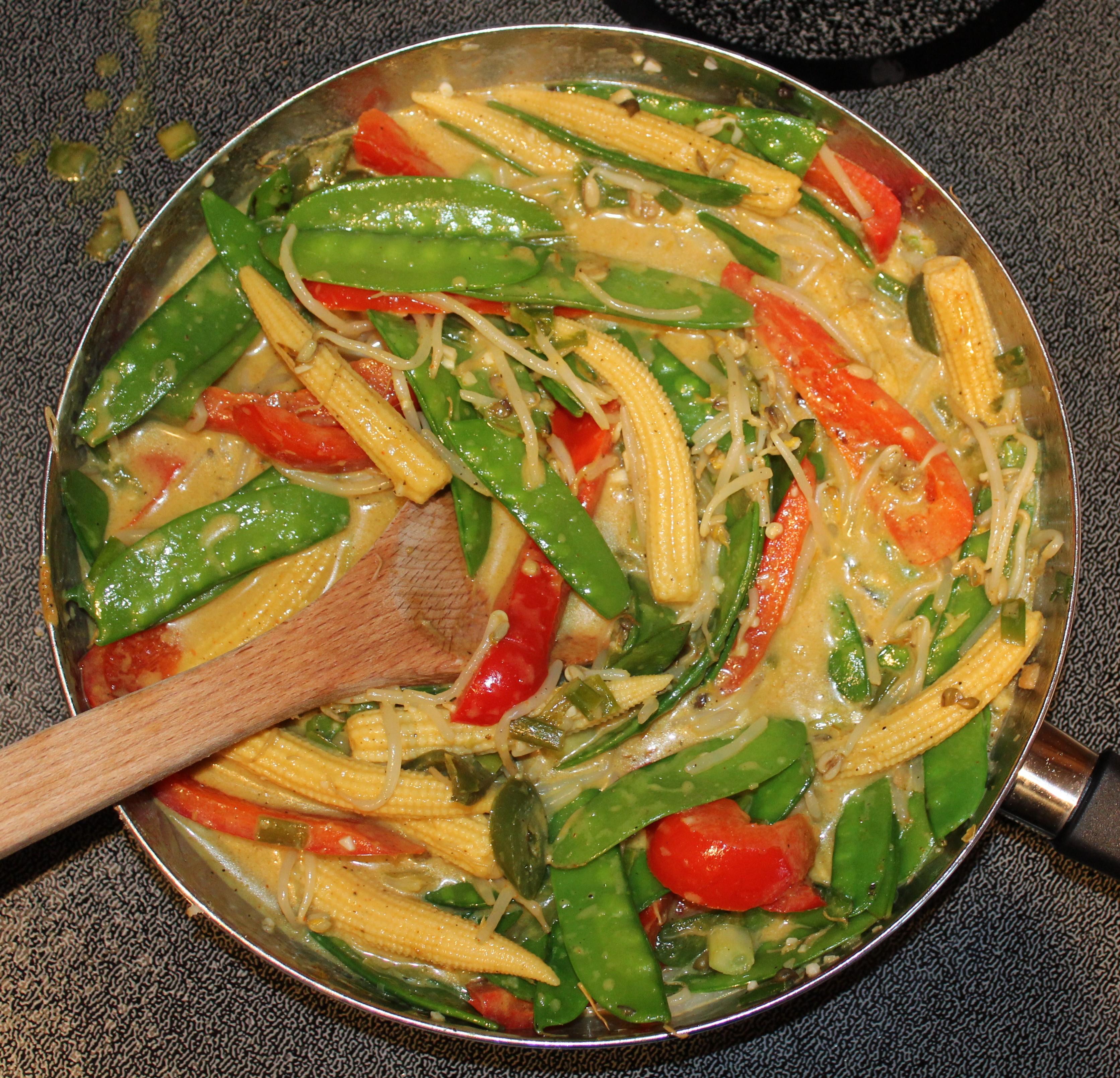 Coconut Lemongrass Curry Stir-Fry 3