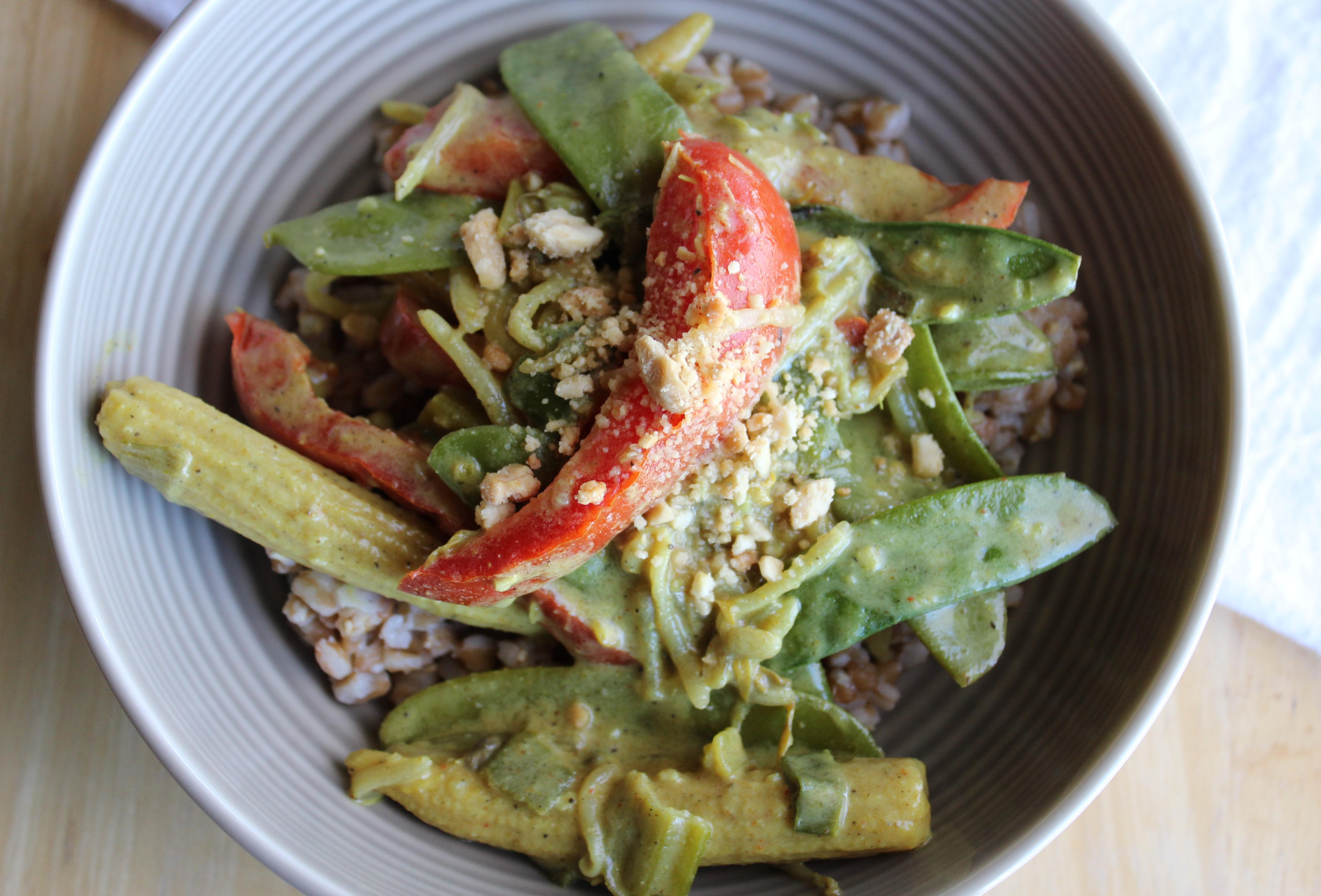 Coconut Lemongrass Curry Stir-Fry 4
