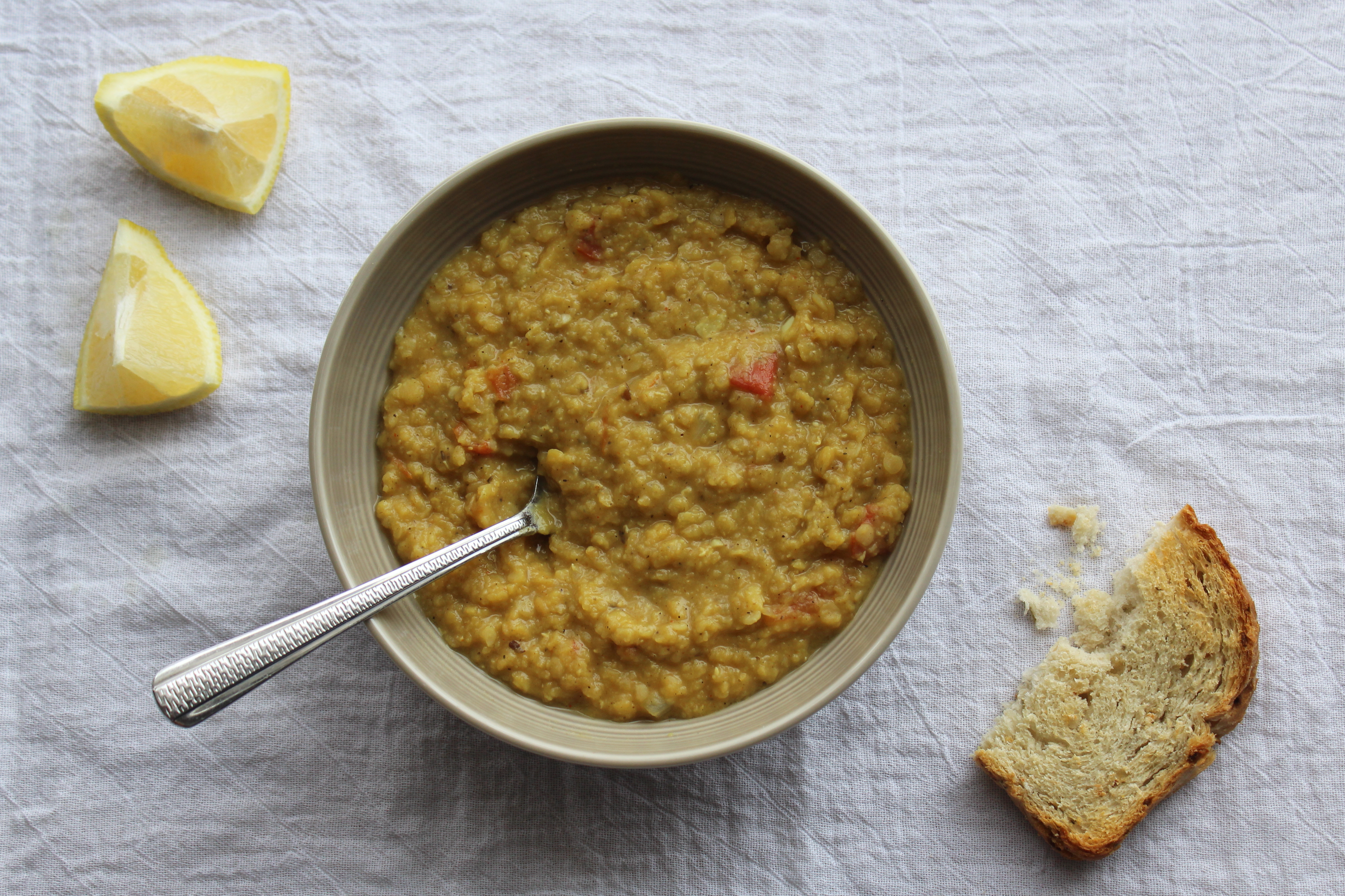 Crushed Red Lentil Soup 1