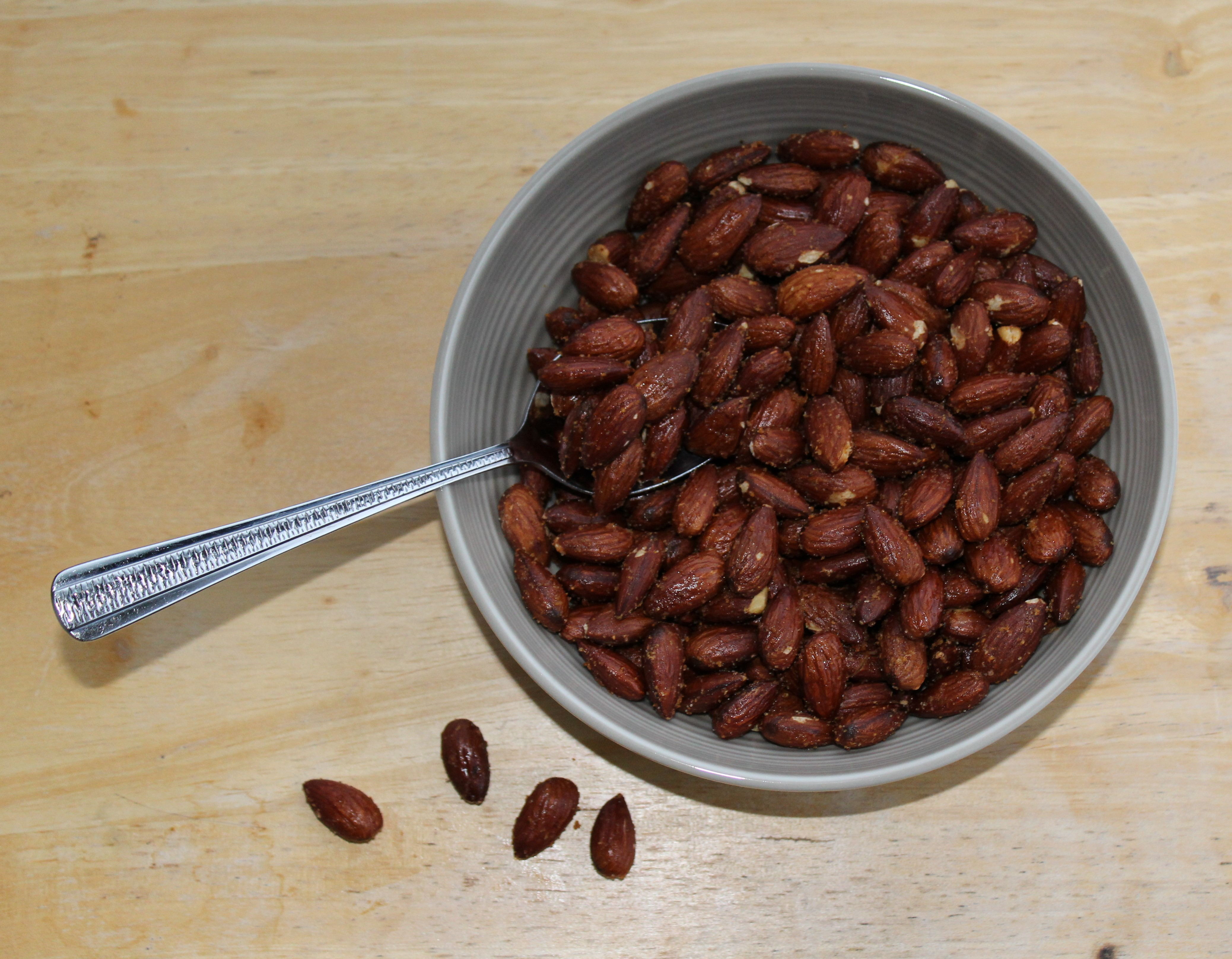 Garlic Roasted Almonds 1