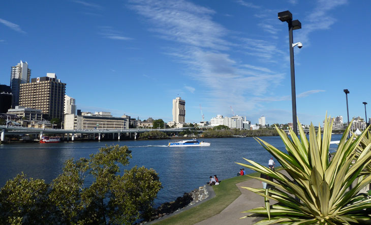 Brisbane, Australia, Cruise, Brisbane River