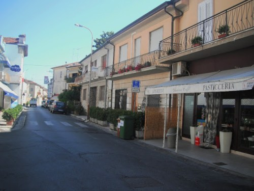 Typical street in Massarosa