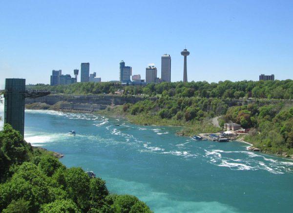 View of Niagara Falls Ontario