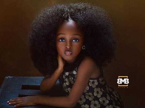 Menina de 5 anos é considerada a 'criança mais bonita do mundo'