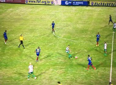 Vitória da Conquista e Bahia de Feira ficam no empate no primeiro duelo da semifinal