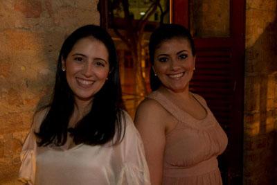 Tatiana Caiafa e Alice Teixeira