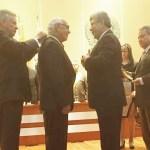 Condecorado Presidente de Acore, por Acorpol