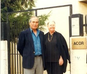 Drs. Pierre and Patricia Bikai in 1996
