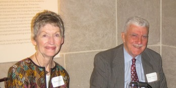 Paula and Ed Harrell at CAORC event in April 2011