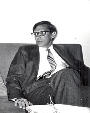 James Sauer in Jordan in 1975