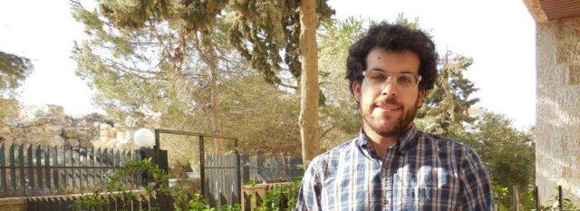 Elias Saba at ACOR, photo by B.A. Porter