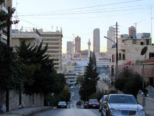 View of Abdali, Amman, Jordan
