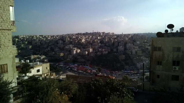 View over Ras al-Ain, Amman