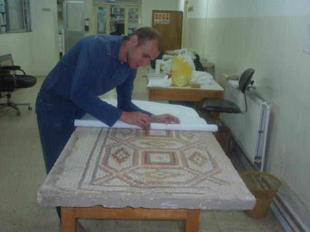 yarmouk mosaic