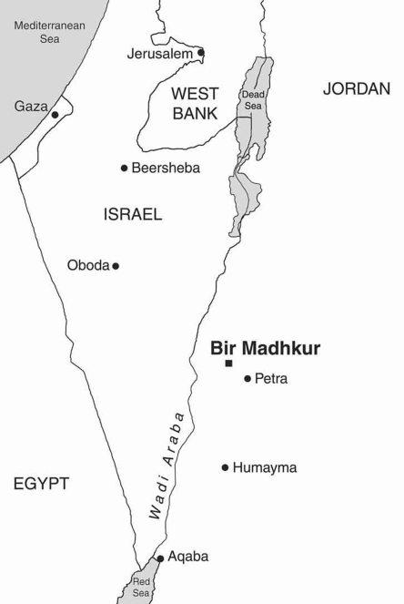 Map Showing Bir Madhkur