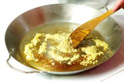 Sauteeing Garlic