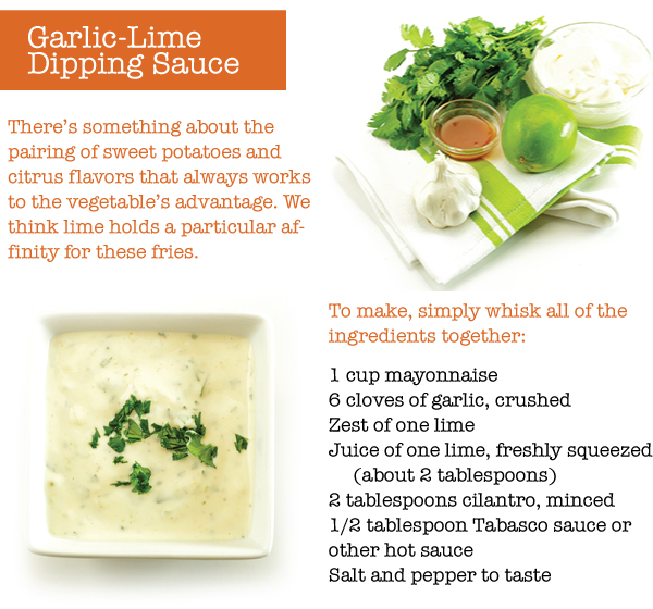 Garlic Lime Dipping Suace