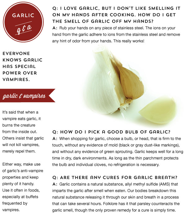 Garlic Q and A