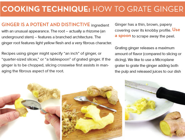 Cooking Technique: How to Grate Ginger