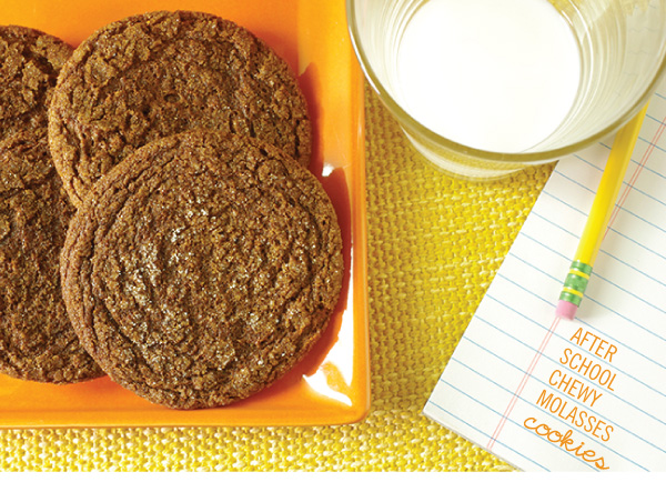 After School Chewy Molasses Cookies