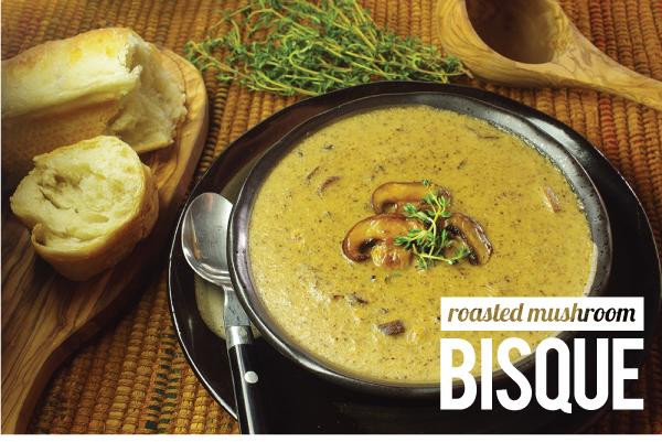 Roasted Mushroom Bisque