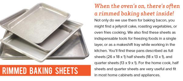 Rimmed Baking Sheets