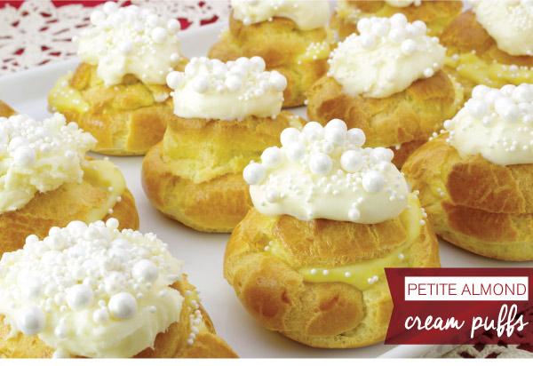Petite Almond Cream Puffs