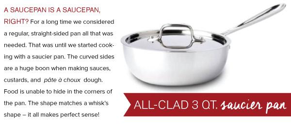 All Clad Saucier