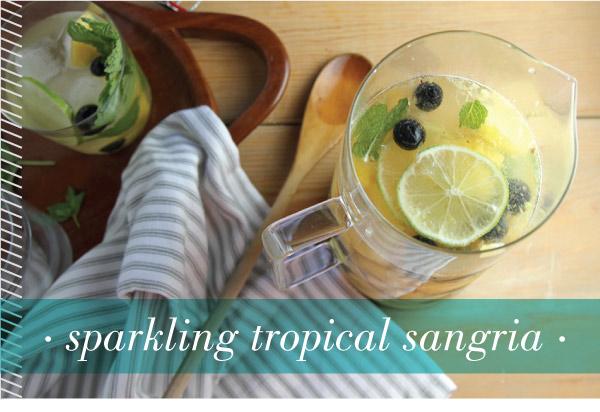 Sparkling Tropical Sangria