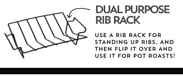 Dual Purpose Rib Rack