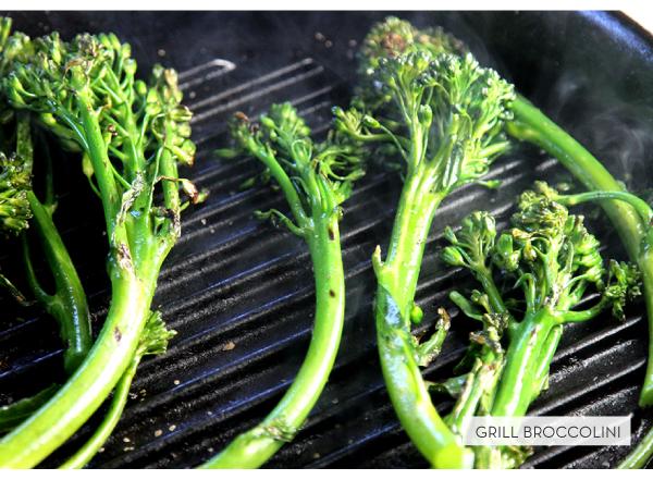 Grill Broccolini