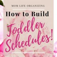 How to Build Toddler Schedules | Block Schedule System