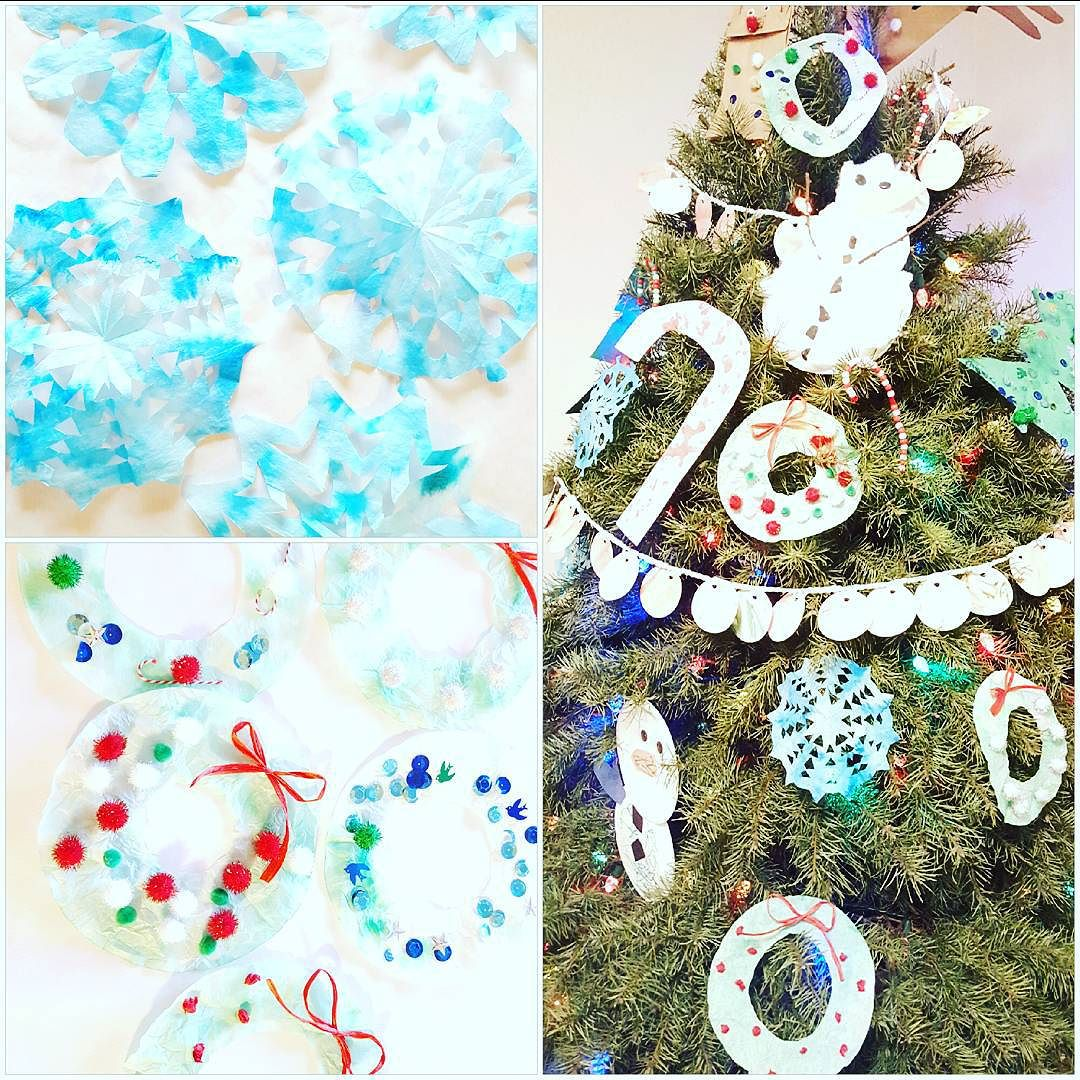 Handmade Christmas {Coffee Filter Crafts}