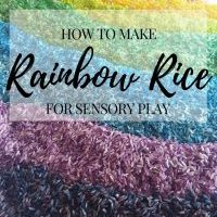 How To Make Rainbow Rice | Recipe