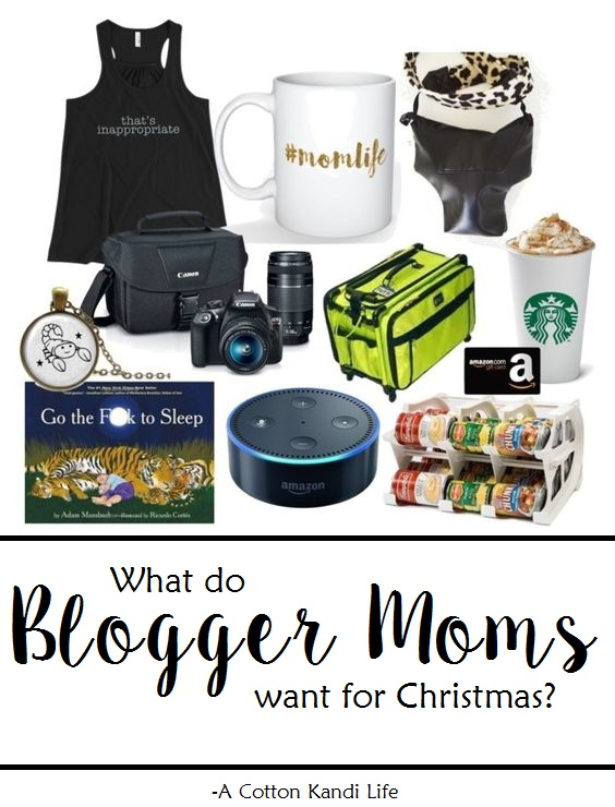 What do Blogger Moms want for Christmas? Christmas Gift Guide for Blogging Moms. Mom Gifts, Holiday Gift Guides