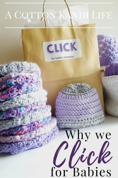 Why we CLICK for Babies. Purple Hat Awareness Campaign for Shaken Baby Syndrome. Click fr Babies Campaign. Purple Hat Awareness. Crochet Hats for a Cause. Teaching Toddlers
