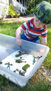 4 Sensory Boxes for Indoor Play. Outdoor Sensory Bin, Boot Camp Sensory Bin, Construction Zone Sensory Bin, Bugs Sensory Play, Dinosaur Sensory Bin. Sensory Play Ideas, Sensory Play Kits