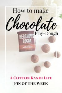 How to make Chocolate Play-Dough. Chocolate Playdough Recipe. Valentines Sensory Play. Easter Basket Gift Idea. DIY Easter. Sensory Play