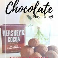 How to Make Chocolate Play-dough