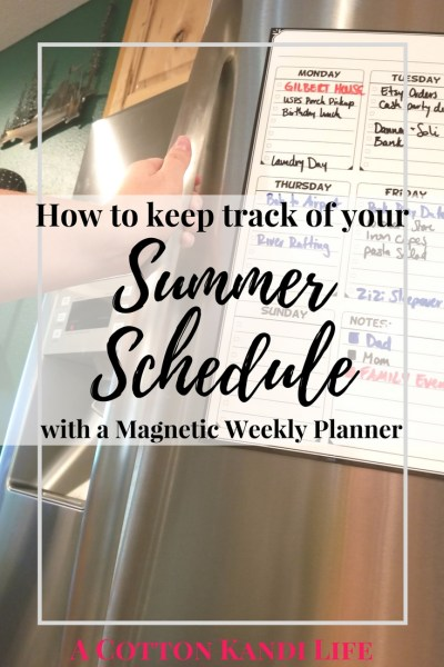How to keep track of your Summer Schedule. How to Plan your Week. Magnetic Weekly Planners. Weekly Planner Reviews. Flat Harmony Weekly Planners. Dry-Erase Magnetic Weekly Planners. Gift Ideas for moms. How to Organize your Week. Organizing tools for moms. Mom Planning tools. Fertility Tracker.