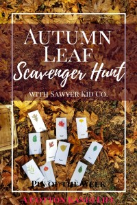 Autumn Leaf Scavenger Hunt. Sawyer Kid Co. Explore Sawyer. Fall Activities for Kids. Leaf Activities. Fall Fun for Kids. Outdoor games for kids.
