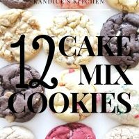 12 Cake Mix Cookie Recipes