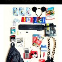 What I'm Bringing to Disneyland | Mom Essentials & Backpack