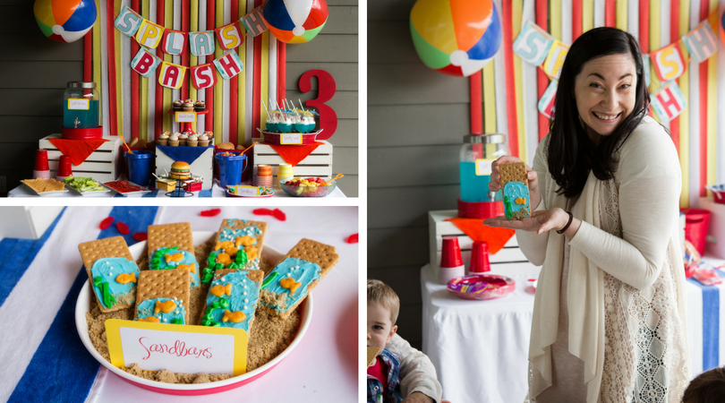 13bb622ef9 How to host a Beach Party. Beach Ball Themed Party. Summer Kids Party Ideas