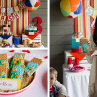 How to throw a Beach Ball Party | Splish Splash Birthday Bash