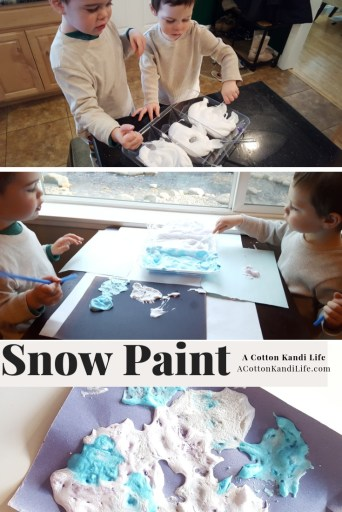 How to Make Snow Paint with Shaving Cream and Glue. Easy Winter Activities for Kids. Winter Art Projects. Snow Painting for kids. Indoor Snow Art. Make your own snow. Snow art Projects. Frozen Party Ideas.