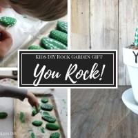 DIY Rock Garden | You Rock! Appreciation Gift