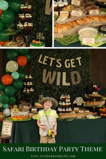 Let's get Wild with a Safari Birthday Party Buffet. Yes, I gave all of the food funny names that make a for a good pun. If you need a few Safari Party Food Names come on over.  * Safari Food Names. Jungle Food Names. Funny Names for Party Food.  Safari Food Snacks. Safari Birthday Party Food. Jungle Party Food Labels.,