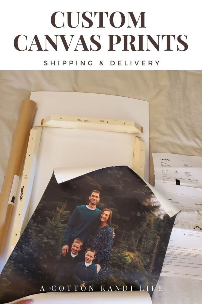 Custom Canvas Prints are the perfect way to keep your home up to date all year. If you're looking for ideas on how to use your Wedding Pictures or what to do with Senior Portraits, this is the way to go.  . I used PhotoWall for this order and they shipped free and fast. You can order custom prints, posters and wallpaper.  . Decor Ideas on a Budget. Home Decor Inspirations. Affordable Canvas Printing. DIY Home Decor for Home Interiors.