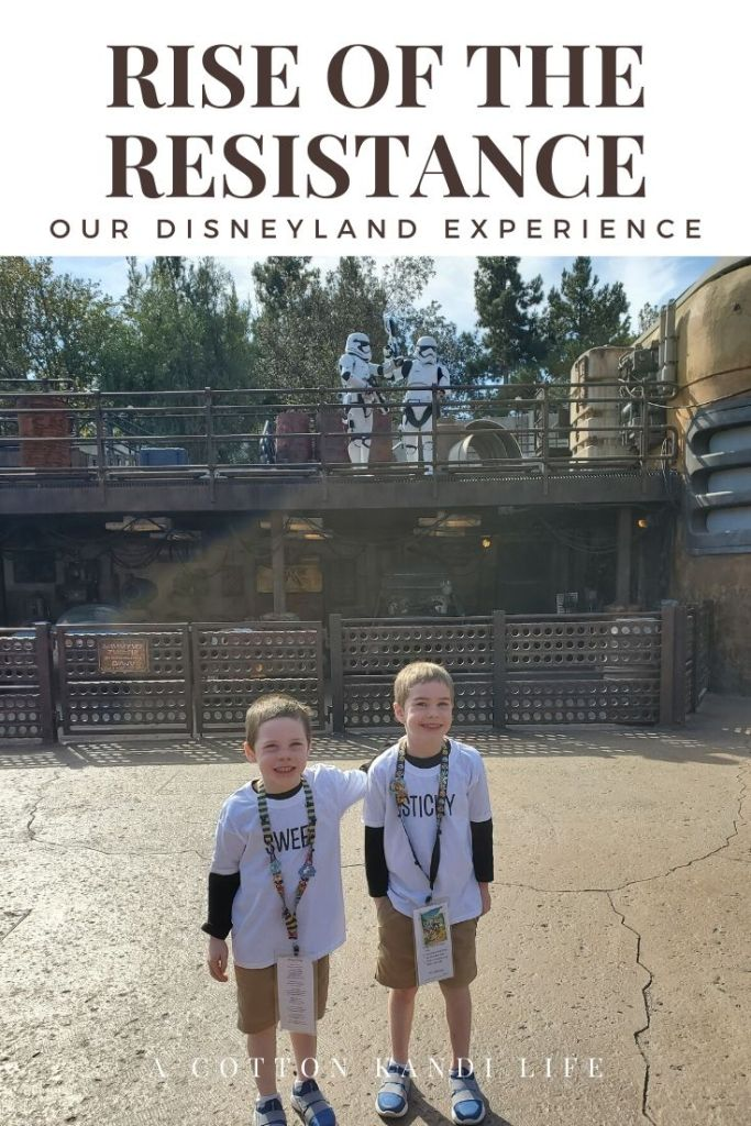 I'm taking you on a quick tour through the new Star Wars Ride: Rise of the Resistance. Here is a little insight into how long it is and what to expect.  . Disneyland's new Star Wars ride details. Everything you need to know about Galaxy's Edge.